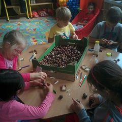 Galeria Jesień w świetlicy szkolnej
